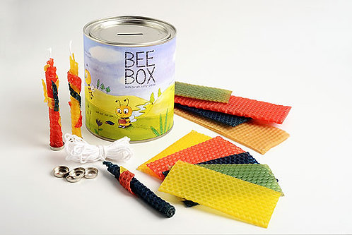 BEE BOX   ערכת יצירה מדליקה לנרות חנוכה