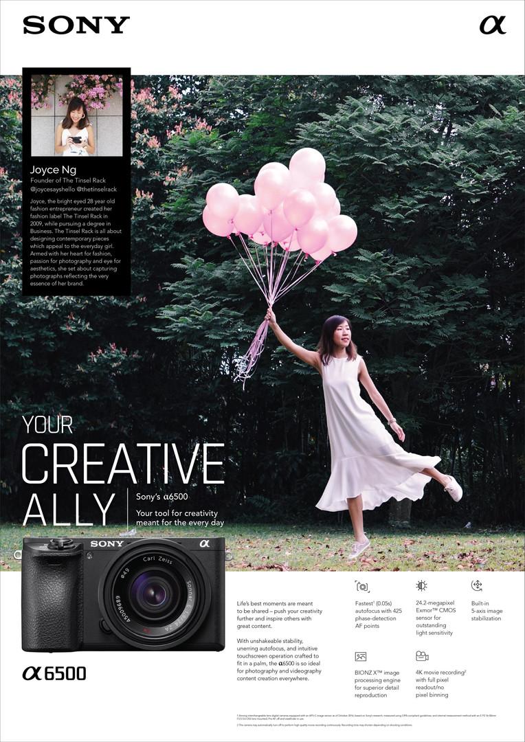 Sony Creative Ally key visual Sixmoredays
