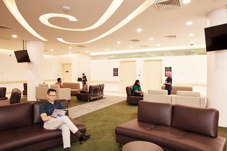 CVSKL Outpatient waiting area interior graphics Sixmoredays