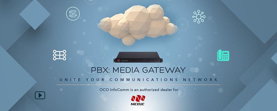 OCO Infocomm PBX media gateway