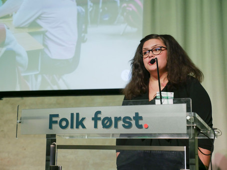 Celina Christoffersen valgt som ungdomskandidat for Innlandet Unge Venstre!