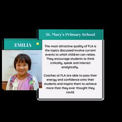 Emilia testimonial