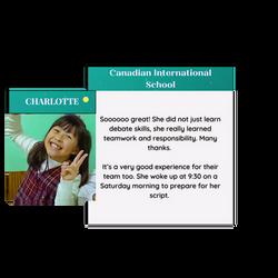 Charlotte testimonial