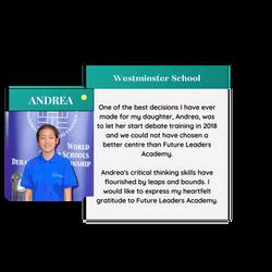 Andrea testimonial