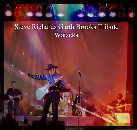 Steve Richards Garth Brooks Tribute Arti
