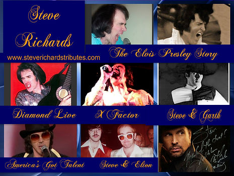 Steve Richards Neil Diamond Elvis Elton Jon Garth Brooks Billy Joel Tribute Artist