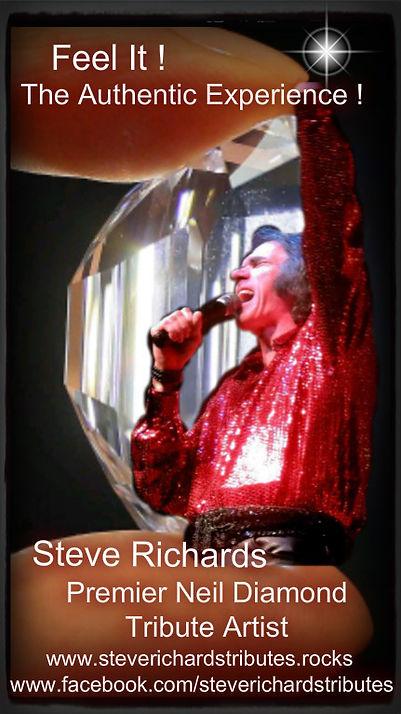 Steve Richards Neil Diamond Tribute Artist
