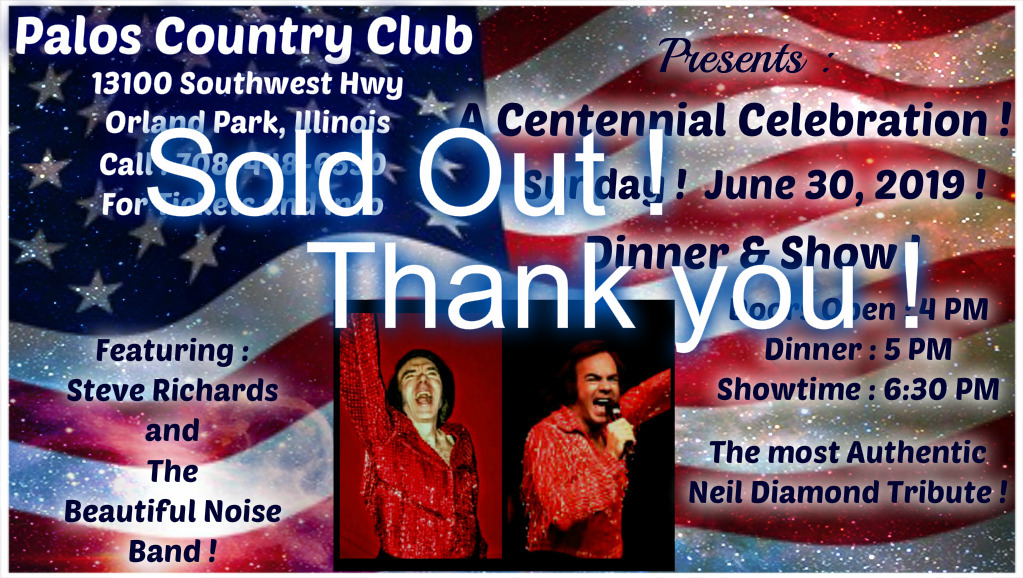 Sold Out !  June 30, 2019 !
