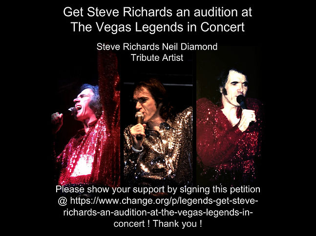 Steve Richards Premier Neil Diamond Tribute Artist