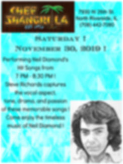 Neil Diamond Tribute Artist Steve Richar