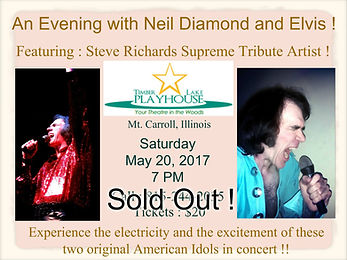 An Evening with Neil Diamond and Elvis f