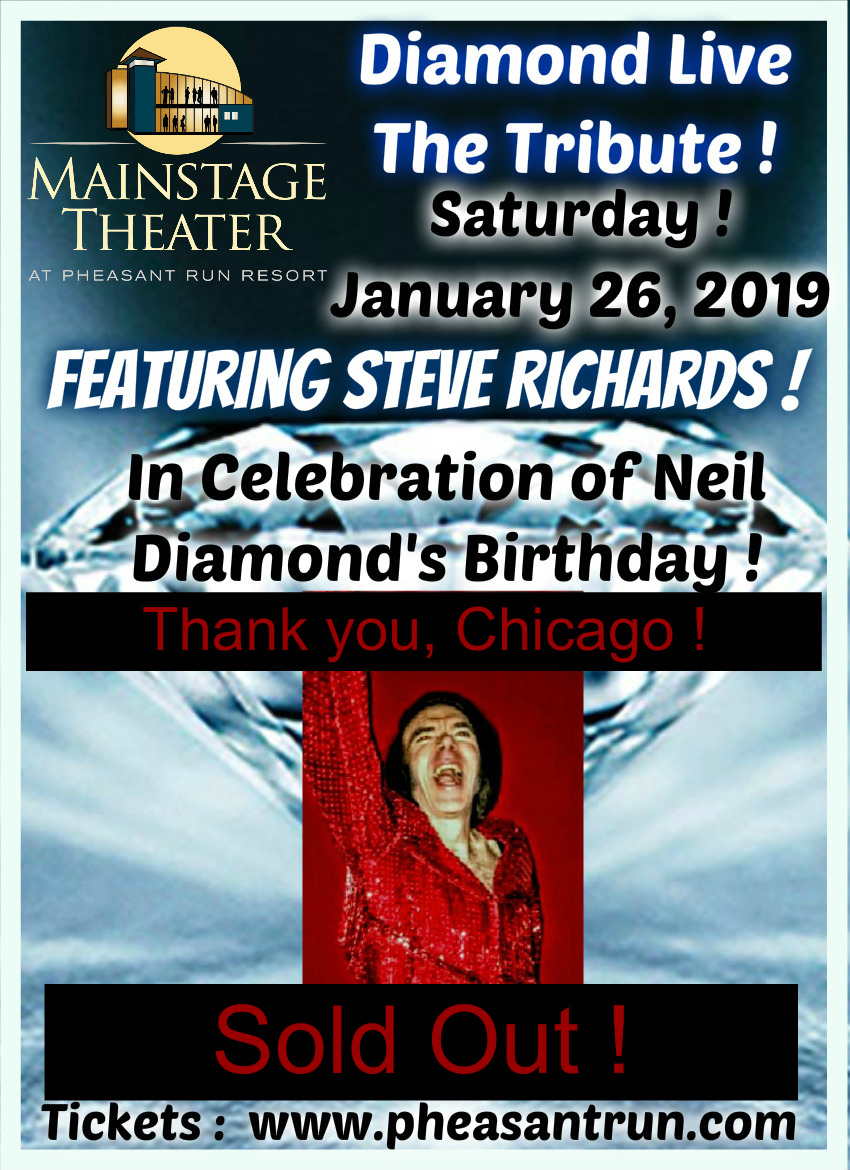 SOLD OUT !  Steve Richards Tributes