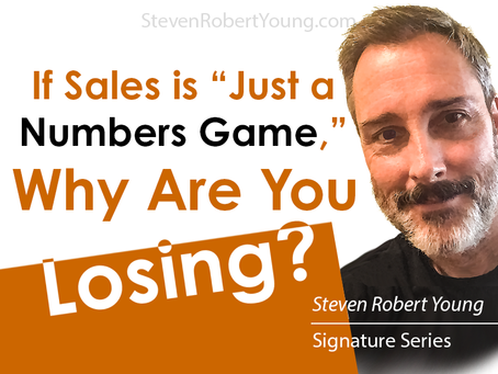 If Sales is a Numbers Game, Why Are You Losing?
