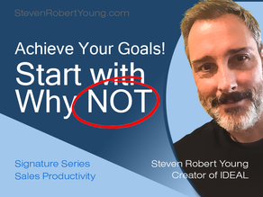 Start with Why-NOT