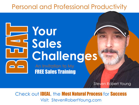 Beat Your Sales Challenges (Watch My FREE Training Video)