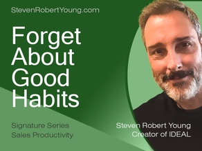 Success Does Not Require Good Habits