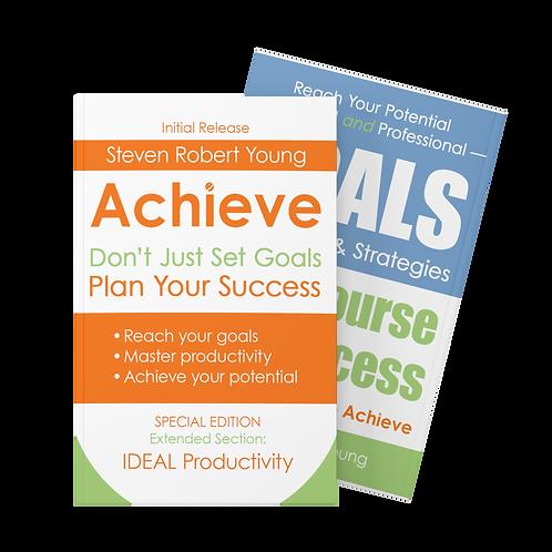Collection (2 eBooks): Goals + Achieve