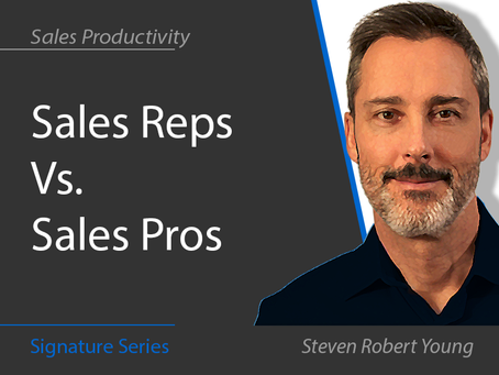 Sales Reps Vs. Sales Pros
