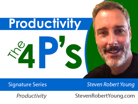 The 4 P's in Productivity