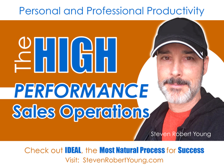 The HIGH-PERFORMANCE Sales Operation