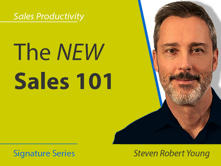 The NEW Sales 101