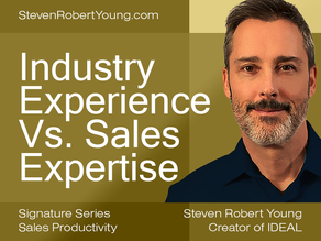 Hiring: Industry Experience or Sales Expertise?