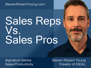 Sales Reps Vs. Sales Pros
