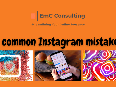 Top 9 common mistakes on Instagram