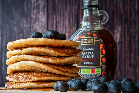 Pancakes and Blueberries. Ecommerce Photography. Commercial Photography. Commercial Photographer. Product Photography. Product Photographer. Food Photography. Food Photographer. E-commerce. Cambridge. London. United Kingdom. UK East Anglia. Business Photographer. Business Photography. Creative Product Photography