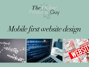 What is the big deal about mobile-first web design?