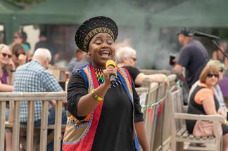Female African Singer