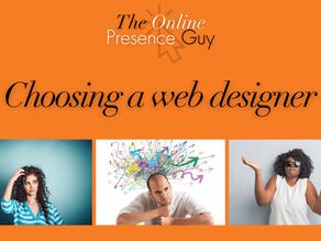 Tips for choosing a web designer