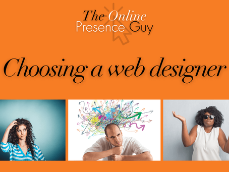 Tips for choosing a web designer