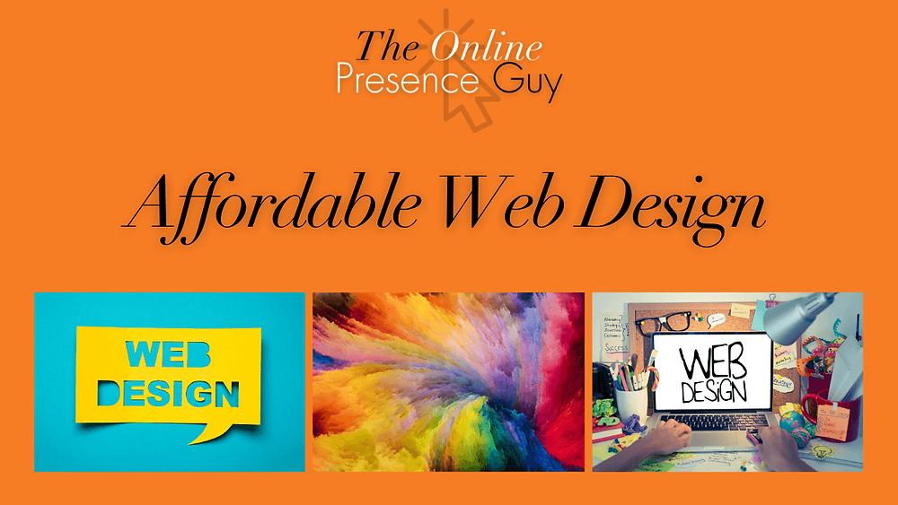 Web design. Website design. Web designer. Web design Cambridge. Affordable website. Cheap website. The Online Presence Guy. Web developer. Website developer. Cambridge. Haverhill. London. UK.