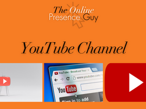 The Online Presence Guy YouTube Channel
