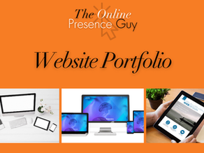 The Online Presence Guy's Website Portfolio