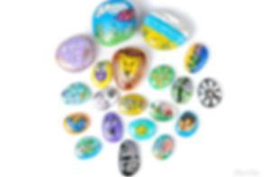 Coloured Stones. Ecommerce Photography. Commercial Photography. Commercial Photographer. Product Photography. Product Photographer. Food Photography. Food Photographer. E-commerce. Cambridge. London. United Kingdom. UK East Anglia. Business Photographer. Business Photography. Creative Product Photography