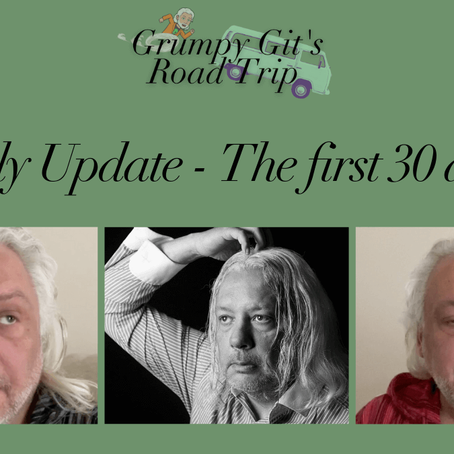 Grumpy Git's Daily Update - The first 30 days