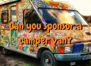 Can you sponsor a camper van?