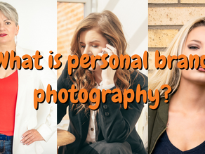 What is personal brand photography?