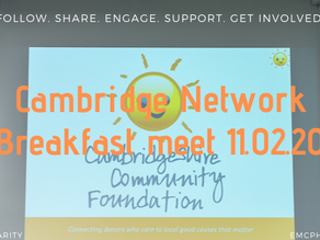 Cambridge Network event 11.02.20