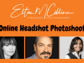 Take your own headshot - Online headshots