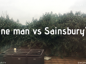 One man vs Sainsbury's