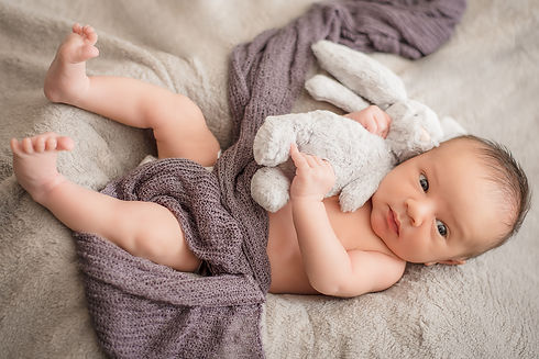 Baby and teddy. Newborn photographer. Newborn photography. Baby photography. Baby photographer. Natural newborn photography. Cambridge. London. United Kingdom. UK. Portrait Photographer.
