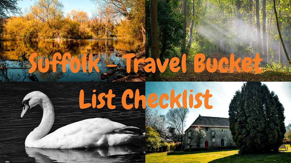 Travel. Blog. Travel blog. 24 things to do in Suffolk. Road trip. Wanderlust. Suffolk. UK. England. Photography. Photographer. Places to see. Checklist. Travel checklist.