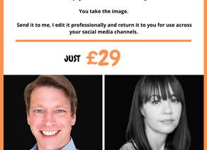 Take your own headshot - Online headshots