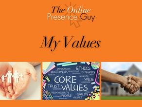 My values - Working with Elton