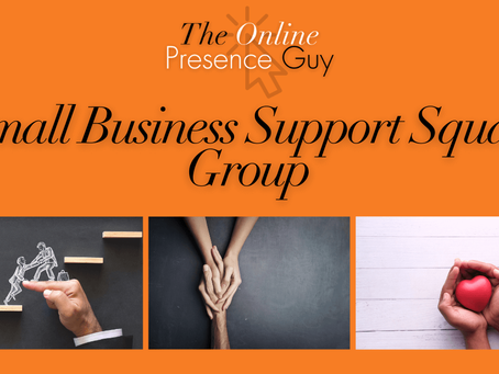 Small Business Support Squad - Facebook Group
