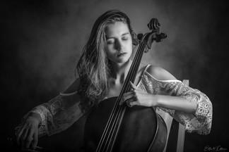 Cellist Personal Brand Portrait