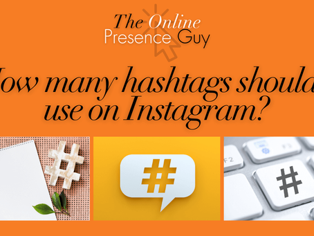 How many hashtags should I use on Instagram?